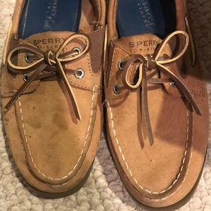 Sperry Shoes | Tan Sperrys | Poshmark
